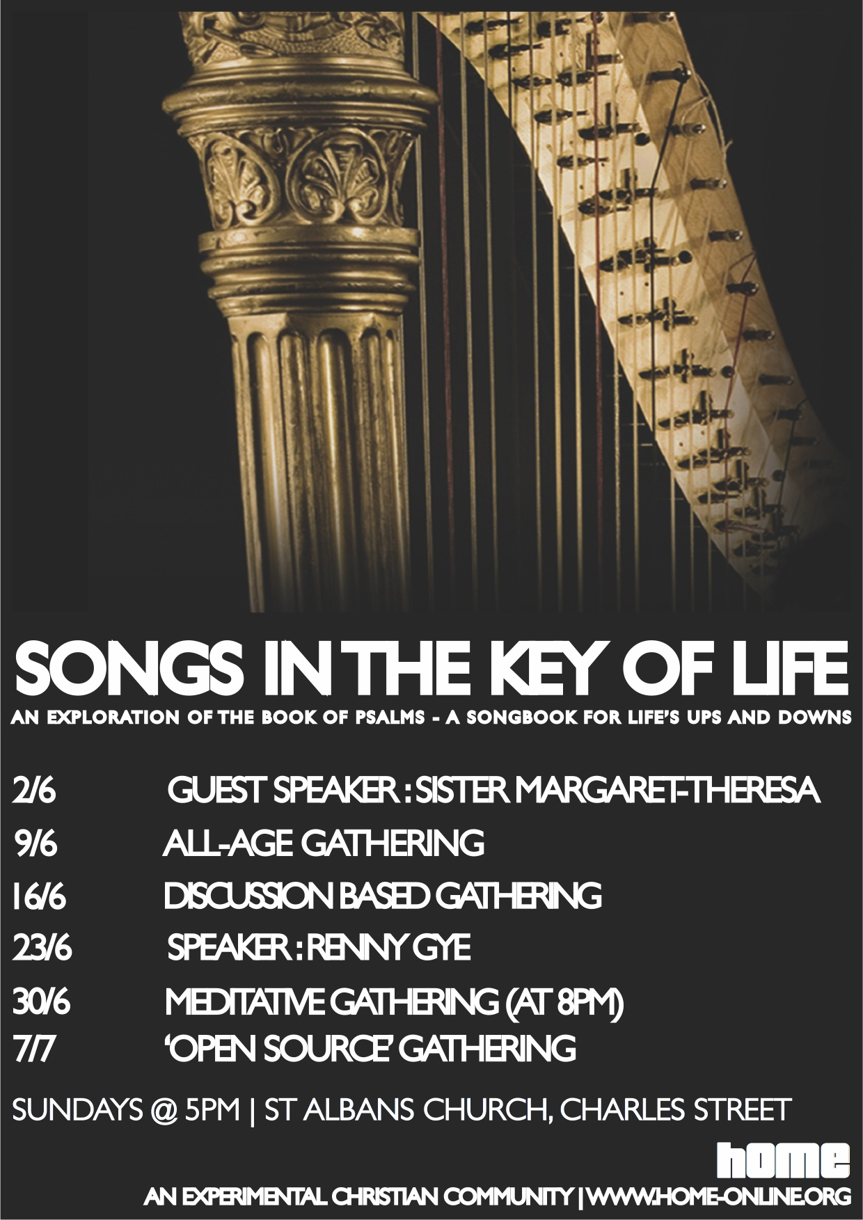 songs in the key of life cycle poster